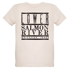 Lower Salmon River Organic Kids T-Shirt