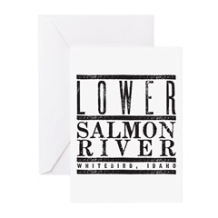 Lower Salmon River Greeting Cards (Pk of 10)