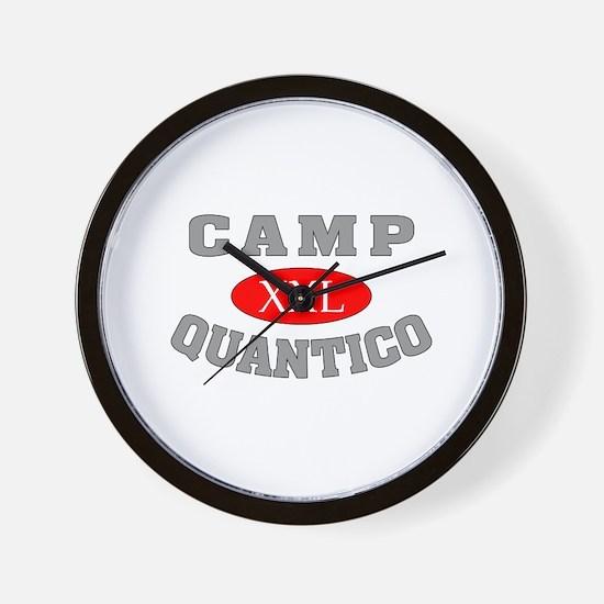 Camp Quantico Spy Wall Clock