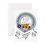 Gibson Clan Badge Greeting Cards (Pk of 10)