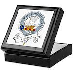 Gibson Clan Badge Keepsake Box