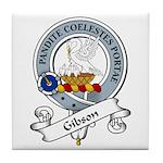 Gibson Clan Badge Tile Coaster