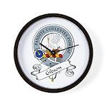 Gibson Clan Badge Wall Clock