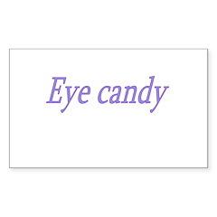 Eye Candy Sticker (Rectangle)