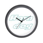 Horn Dog Wall Clock