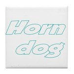 Horn Dog Tile Coaster