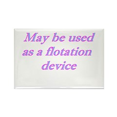 May Be Used As A Flotation De Rectangle Magnet (10