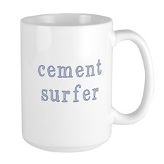 Cement Surfer Large Mug