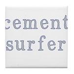 Cement Surfer Tile Coaster