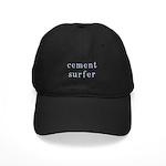 Cement Surfer Black Cap