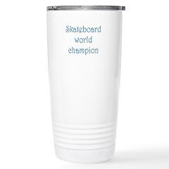 Skateboard World Champion Stainless Steel Travel M