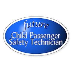 future Child Passenger Safety Technician (oval)
