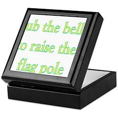 Rub The Belly To Raise The Fl Keepsake Box