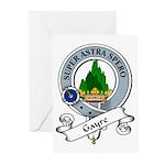 Gayre Clan Badge Greeting Cards (Pk of 10)