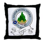 Gayre Clan Badge Throw Pillow