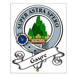 Gayre Clan Badge Small Poster