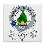 Gayre Clan Badge Tile Coaster