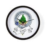 Gayre Clan Badge Wall Clock