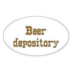 Beer Depository Decal