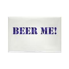 Beer Me Rectangle Magnet