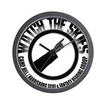 Watch the Skies Wall Clock