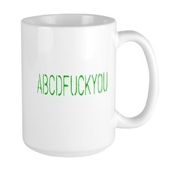 ABCDFUCKYOU Mug
