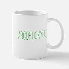ABCDFUCKYOU Small Small Mug
