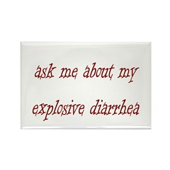 Ask Me About My Explosive Dia Rectangle Magnet (10