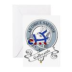 Galbraith Clan Badge Greeting Cards (Pk of 10)