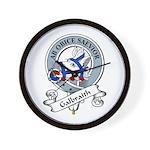 Galbraith Clan Badge Wall Clock