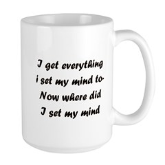 I Get Everything I Set My Min Mug