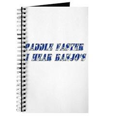 Paddle Faster I Hear Banjos Journal