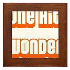 ONE HIT WONDER Framed Tile