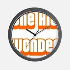 ONE HIT WONDER Wall Clock
