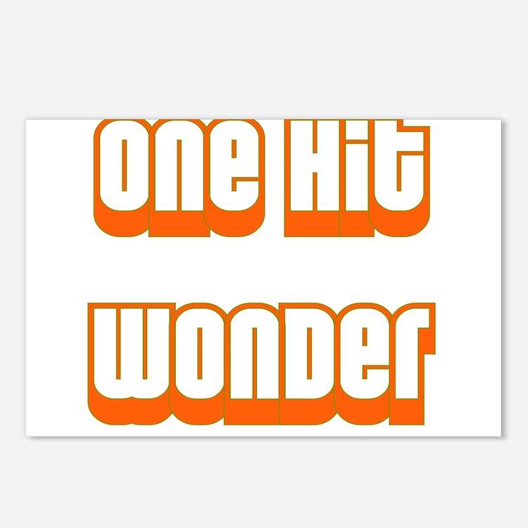 ONE HIT WONDER Postcards (Package of 8)