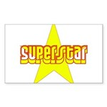 SUPERSTAR Sticker (Rectangle 10 pk)