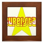 SUPERSTAR Framed Tile