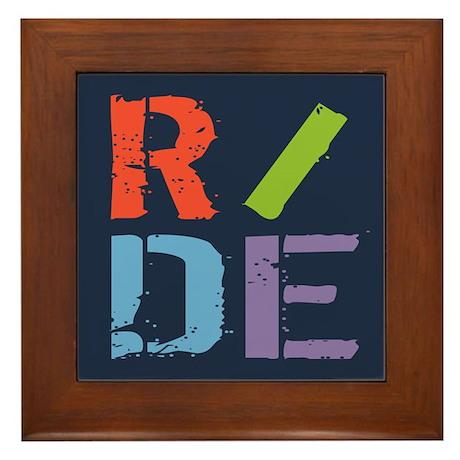 R/DE II Framed Tile