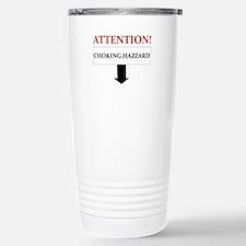 ATTENTION CHOKING HAZZARD Stainless Steel Travel M