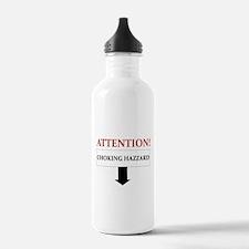ATTENTION CHOKING HAZZARD Water Bottle
