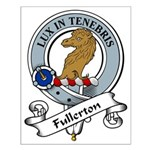 Fullerton Clan Badge Small Poster