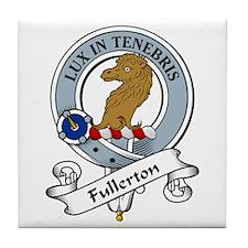 Fullerton Clan Badge Tile Coaster