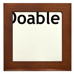 DOABLE Framed Tile