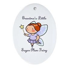 Grandpa's Sugar Plum Fairy Ornament (Oval)