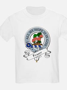 Fraser Clann Badge Kids T-Shirt