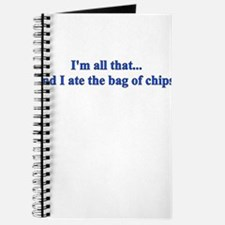 I'M ALL THAT AND I ATE THE BA Journal