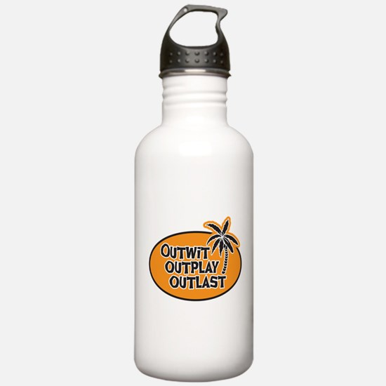 Outwit Outplay Outlast Water Bottle