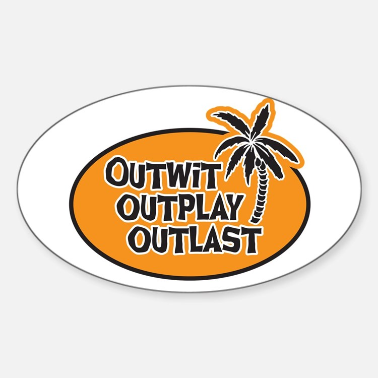 Outwit Outplay Outlast Decal