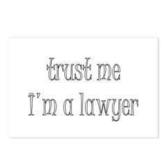 Trust Me Im A Lawyer Postcards (Package of 8)