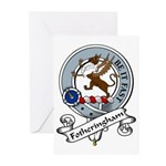 Fotheringham Clan Badge Greeting Cards (Package of